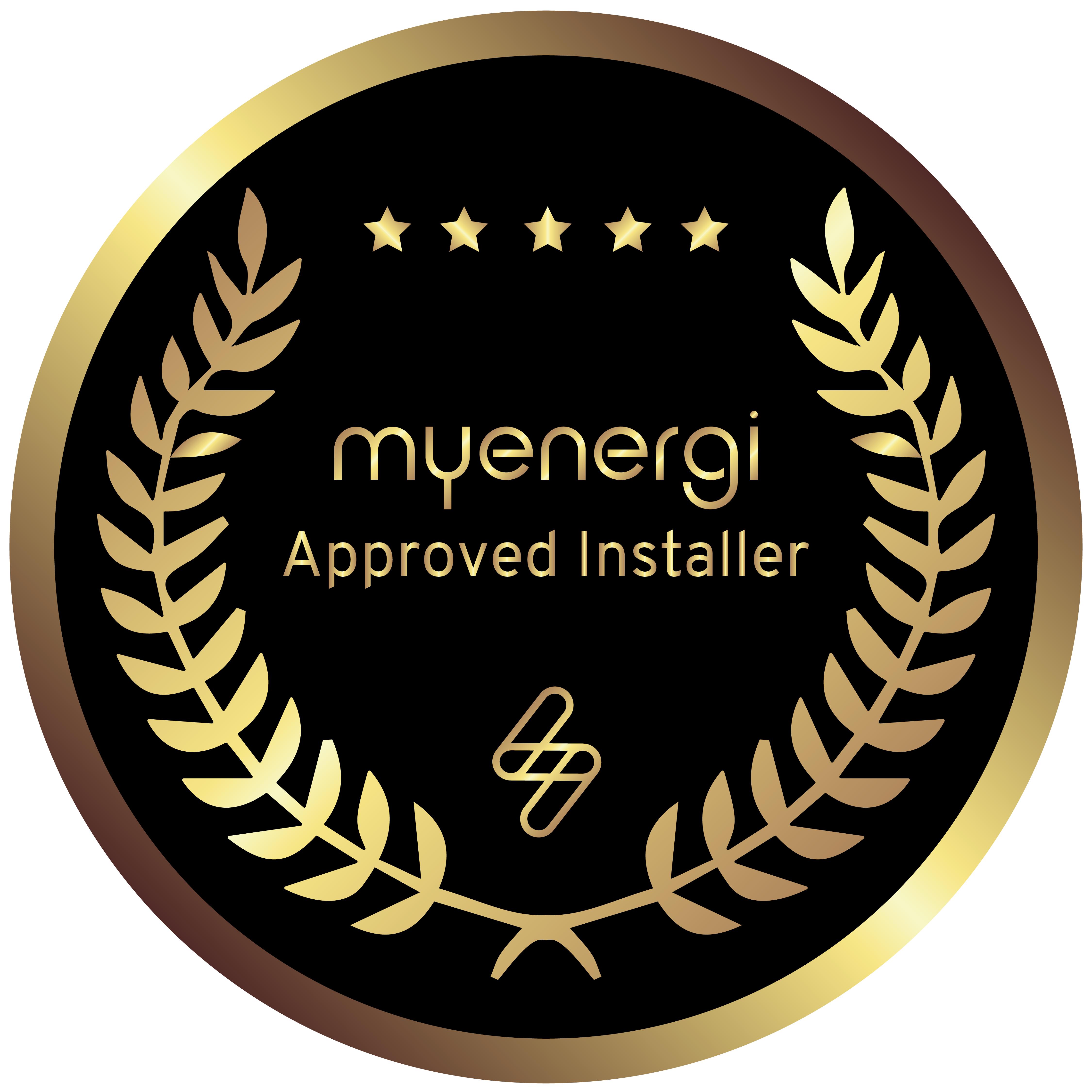 approved installer badge